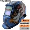 White Skull Solar Auto Darkening TIG MIG MMA Electric Welding Mask Helmet Welder Cap Lens For