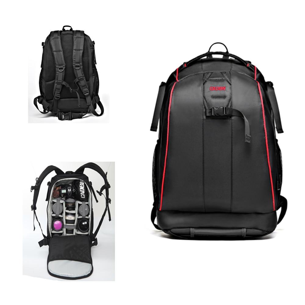 Waterproof Camera Backpack DSLR Camera Bag Soft Shoulders Bag Shockproof Photography Padded Video Bag For Nikon Canon Sony benro ranger400n dslr camera bag waterproof backpack