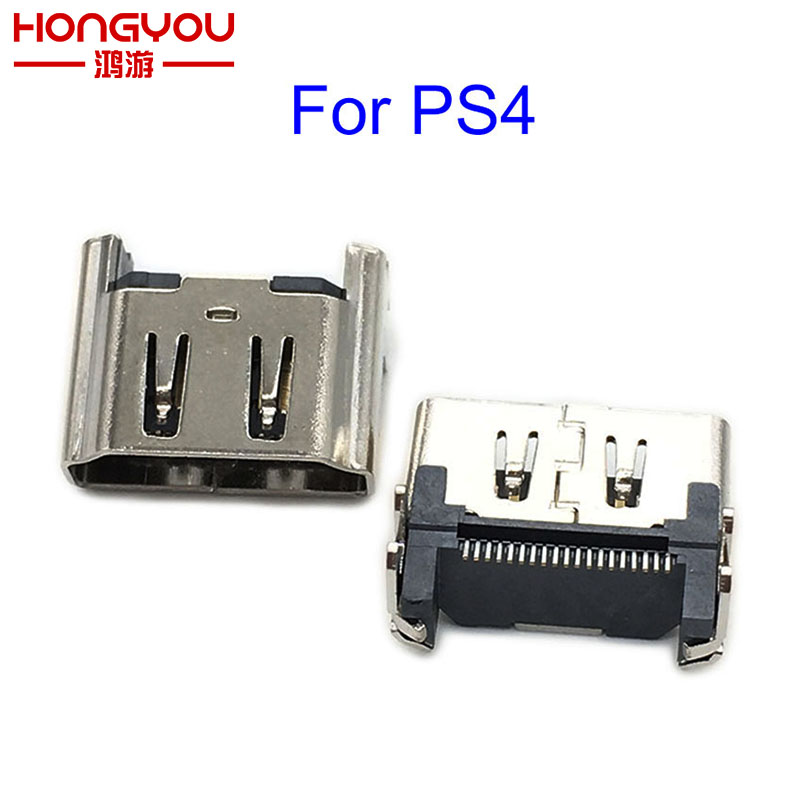100PCS New For Sony Playstation 4 PS4 HDMI Port Socket Interface Connector Replacement