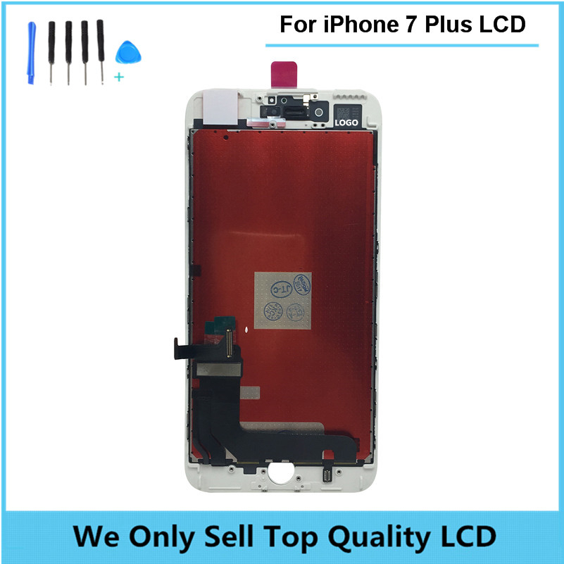 OEM Quality LCD Complete Display Screen For iPhone 7Plus with Touch Glass Digitizer Assembly AAA Quality free DHL 10pcs/lot