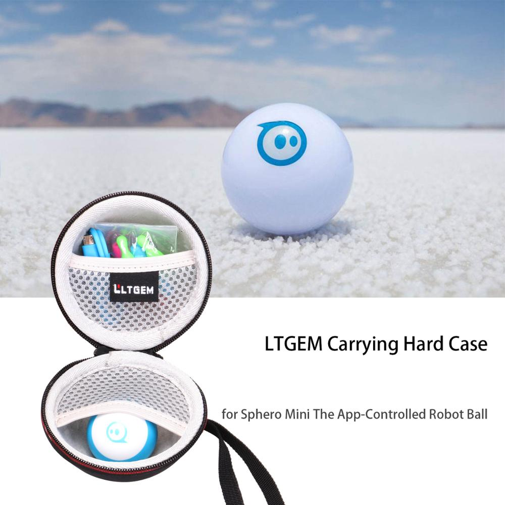 LTGEM EVA Hard Case For Sphero Mini The App-Controlled Robot Ball - Protective Carrying Bag
