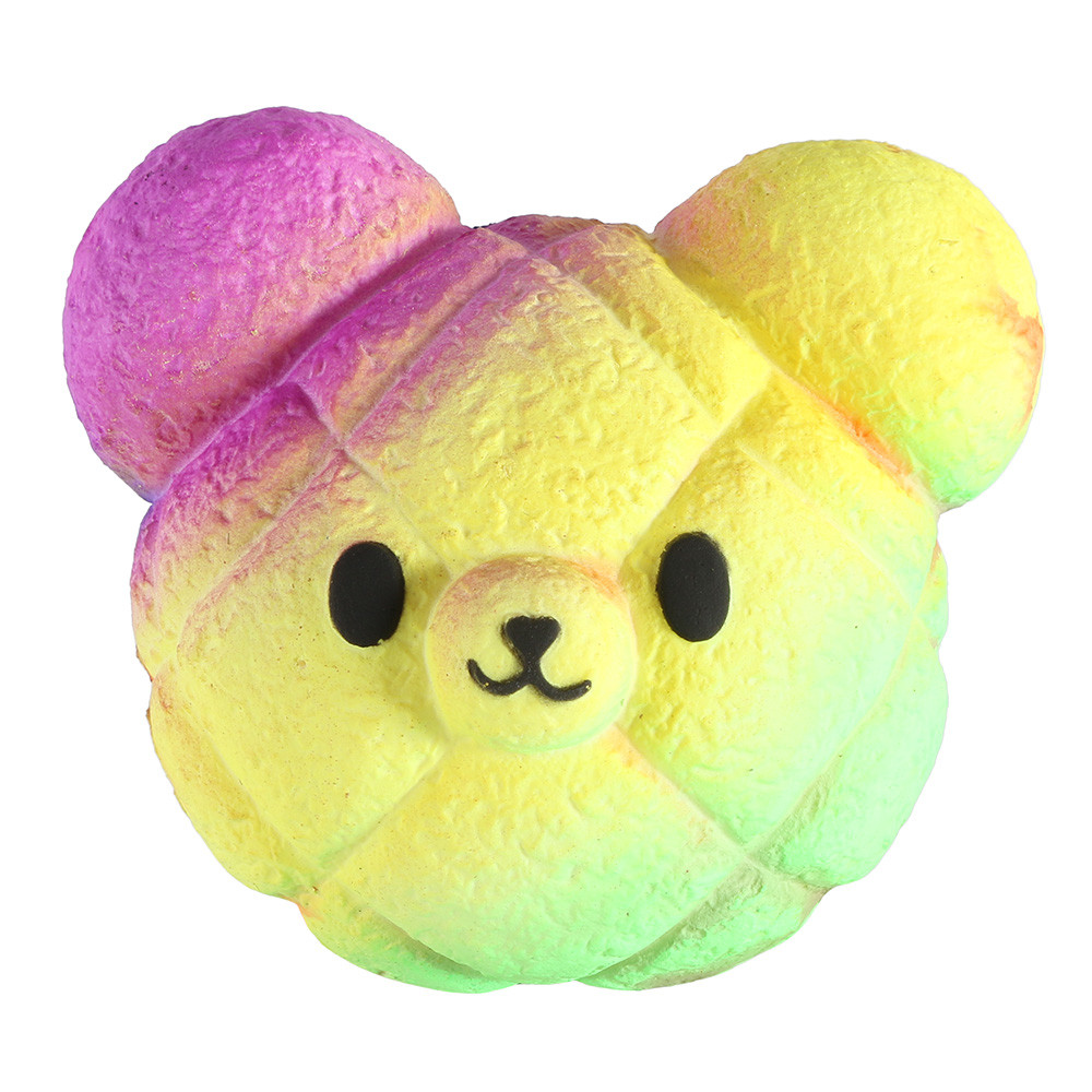 Color Changing Bear Bun Squishy 8
