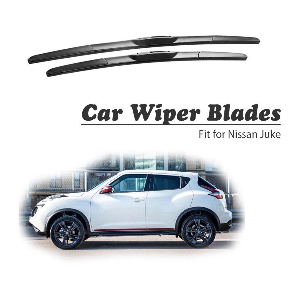 Nissan Juke 2017 >> Us 17 69 18 Off Cnparts Car Windshield Rubber Front Wiper Blades Arm Kit For Nissan Juke 2017 2015 2014 2010 Original Wiper Accessories In