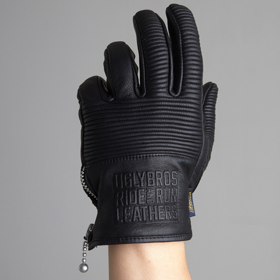 New Arrival Motorcycle Retro Leather Gloves Scooter Cafe Bobber