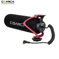 Comica CVM-V30 LITE видео микрофон конденсатор загорается Запись микрофон для Canon Nikon Fuji DSLR камера для смартфонов iPhone
