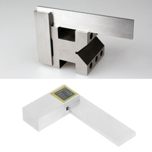 Gauge Measurer Angle-Ruler Ls'd-Tool Stainless-Steel 90-Degree 63x40mm Grade-1