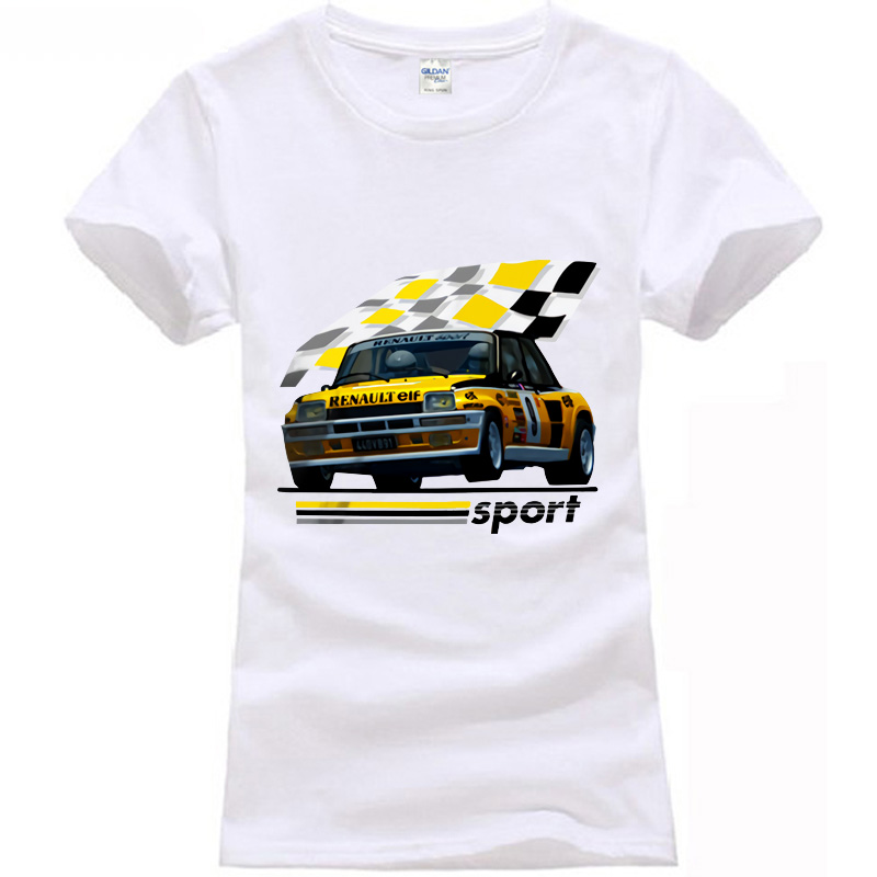 1983 R5 Renault 5 Turbo Rally WRC Racinger T Shirt Maxi Gt Alpine Jean Ragnotti-in T-Shirts