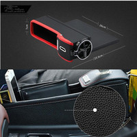 Car Seat Crevice Pockets Leak Proof Storage Box for kia picanto volvo v50 alfa romeo opel insignia ford focus 3 renault scenic