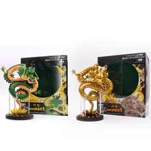 2 pcs/lot Anime Dragon Ball Z Shenron PVC Action Figure Shenlong  Doll Collectible Model Toy Christmas Gift For Children