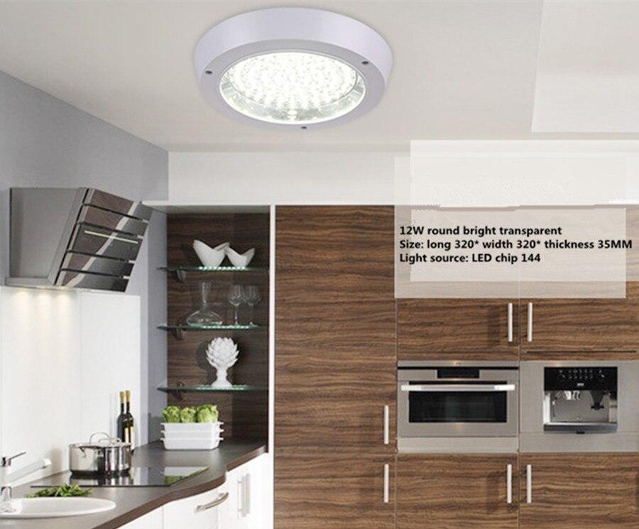 Led keuken verlichting ronde met de waterdichte balkon gang ...
