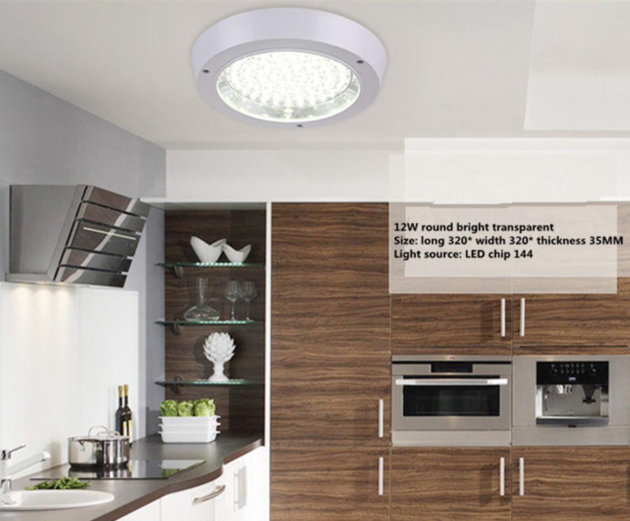 Led Kitchen Lights Round With The Waterproof Balcony Corridor - Kitchen spotlights led
