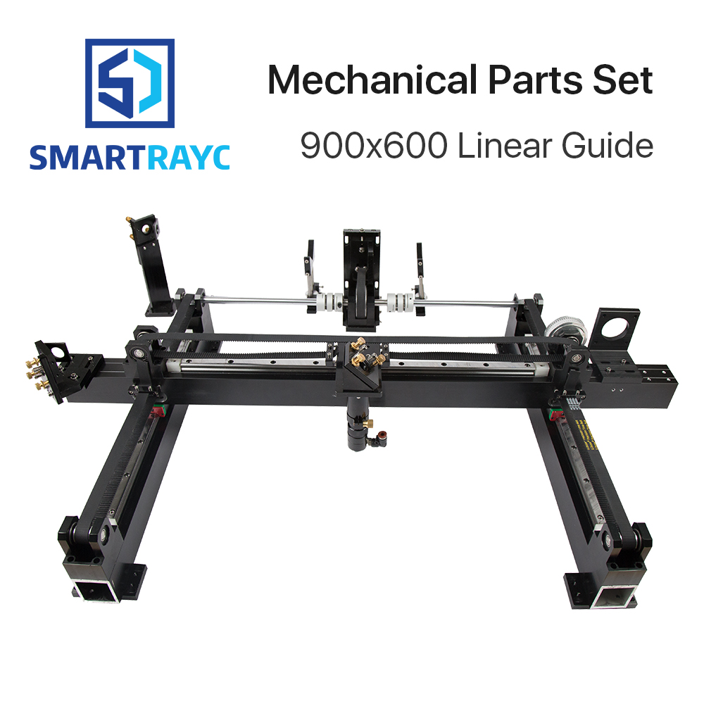 Mechanical Parts Set 600mm*900mm Single Head Laser Kits Spare Parts for DIY CO2 Laser 6090 CO2 Laser Engraving Cutting Machine цена