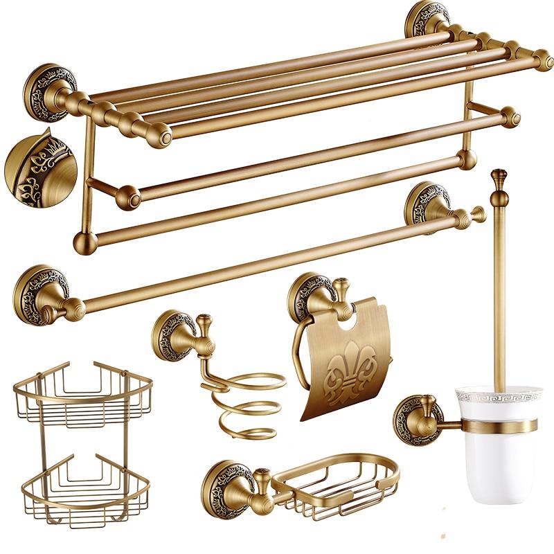 antique carved copper bathroom hardware sets european brushed bronze bathroom products bathroom. Black Bedroom Furniture Sets. Home Design Ideas