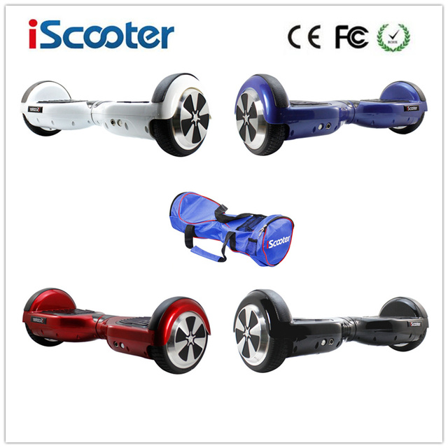 Cheap iScooter 6.5Inch Smart Balance Electric Scooter UL2272 Hoverboard 2 Wheel Skateboard  SelfBalance Skateboard Popular Hover Board