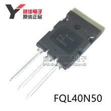 10 PCS إلى 264 FQL40N50 TO264 40A 500 V عالية الطاقة FET جديدة ومبتكرة
