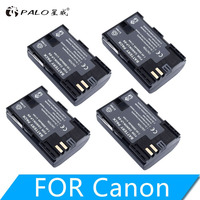 4PCS LP E6 2000mAh 7.4V digital replacement Camera Batteries for Canon EOS 5D Mark II 2 III 3 6d 7d 60d 60d 70d 80d DSLR EOS 5Ds