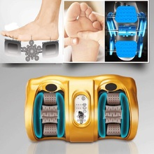 Electric Vibrating Foot Massager With Infrared Heating Therapy