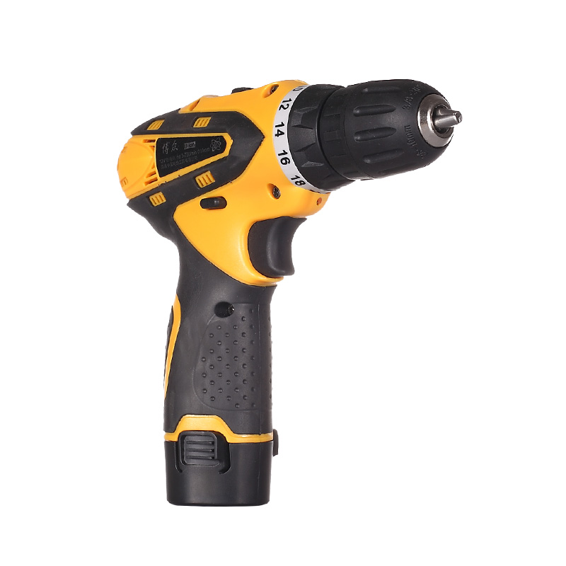 цена на 12V electric Drills Tow-speed selection Cordless electric drill household electric screwdriver power tools+rechargeable battery
