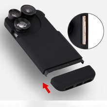 Telescope lense Mobile Phone Case for Iphone