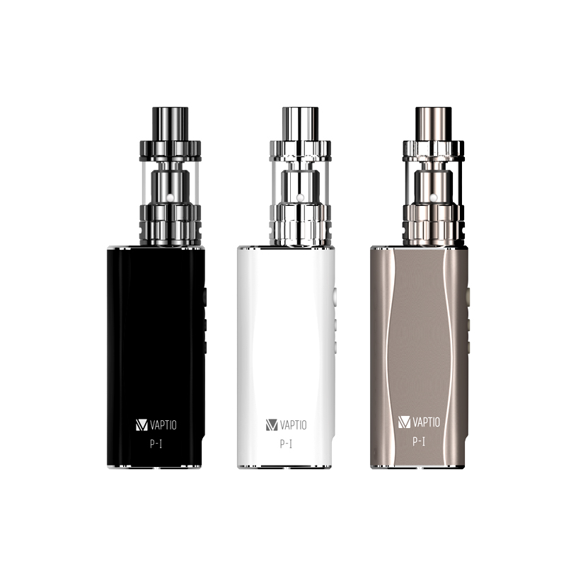 Vape kit Vaptio P1 50 watt e zigarette 2100 mah VW box mod elektronische zigarette 2,0 ml dampf P1 KIT 2 ml 0.2ohm VS Subox Verdampfer