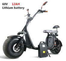 Two-seat With APP Off Road Big Tire Motorcycle Two Wheel 18*9.5inch City Hoverboard Harley  Electric Scooter
