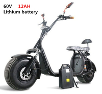 Two seat With APP Off Road Big Tire Motorcycle Two Wheel 18*9.5inch City Hoverboard Harley Electric Scooter