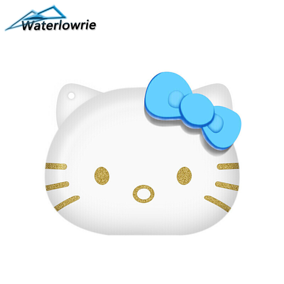 Waterlowrie мини MP3 музыка рисунок «Hello Kitty» MP 3 плеер Портативный mp3-player Lettore Поддержка 8 г TF карты для детей, девушка Праздник подарки