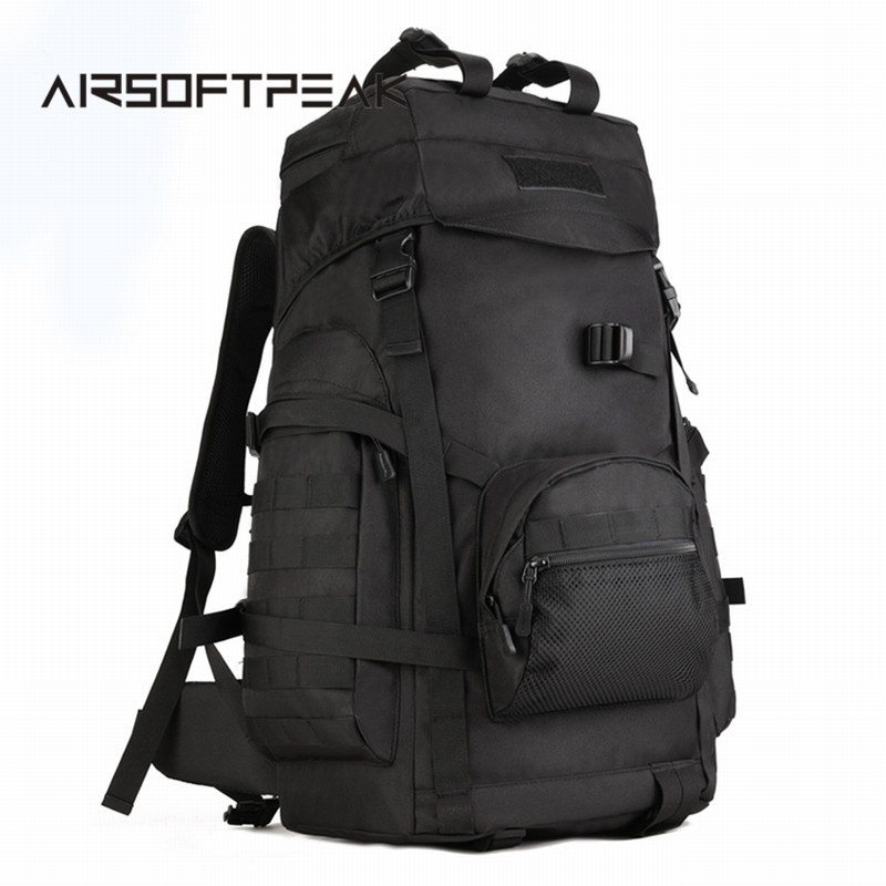 Tactical Molle Rucksack Outdoor Military Shoulder Bags Large Capacity Camping Hiking Backpack Sport Traveling Rucksack Bags