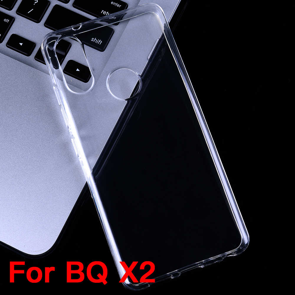 YisiSource Case for BQ Aquaris X2 Slicone Case High Quality Phone Back Cover for BQ Aquaris X2 TPU Transparent Clear Case