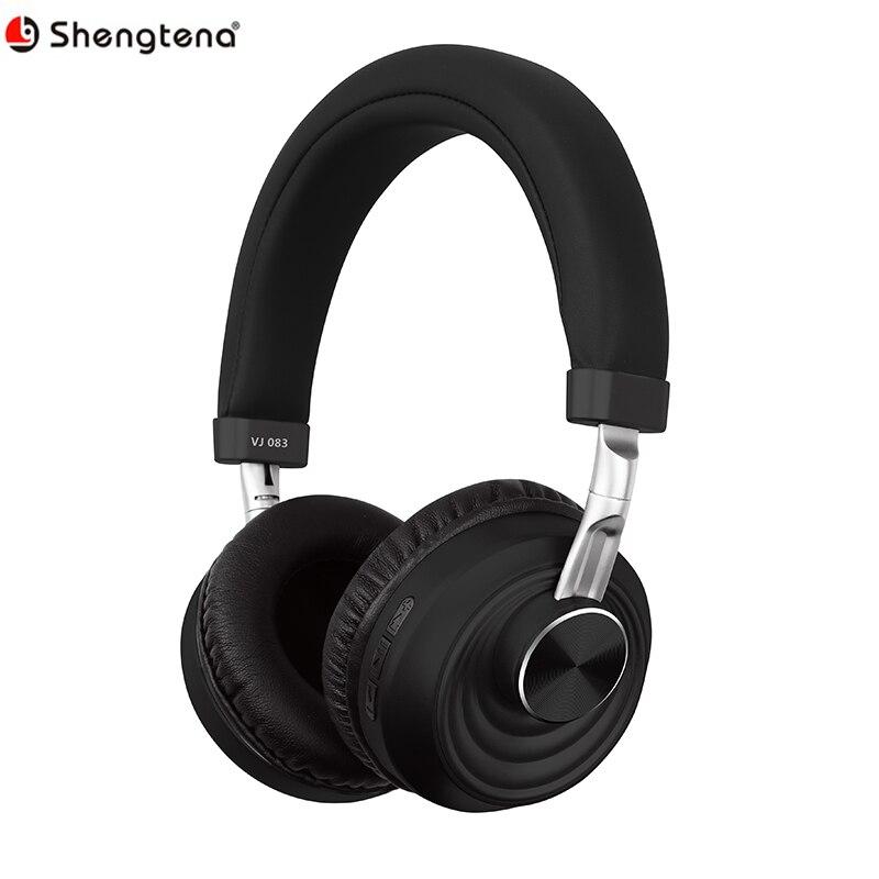 Shengtena Bluetooth 5.0 casque sans fil casque rotatif sans fil stéréo écouteurs Support TF carte avec Microphone pour téléphone