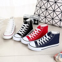 Men S And Women S Black White Canvas Shoes All Stars Couple Style Students Vulcanized Shoes