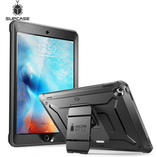 SUPCASE For iPad 9.7 Case (2018/2017)  Heavy Duty UB Pro Full Body Rugged Protective Case with Built in Screen Protector