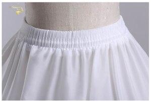 Image 3 - Nowa hurtownia szeroki 4 obręcze 1 warstwa tiul halka do sukni balowej krynolina podkoszulek akcesoria ślubne Jupon Mariage CW01299