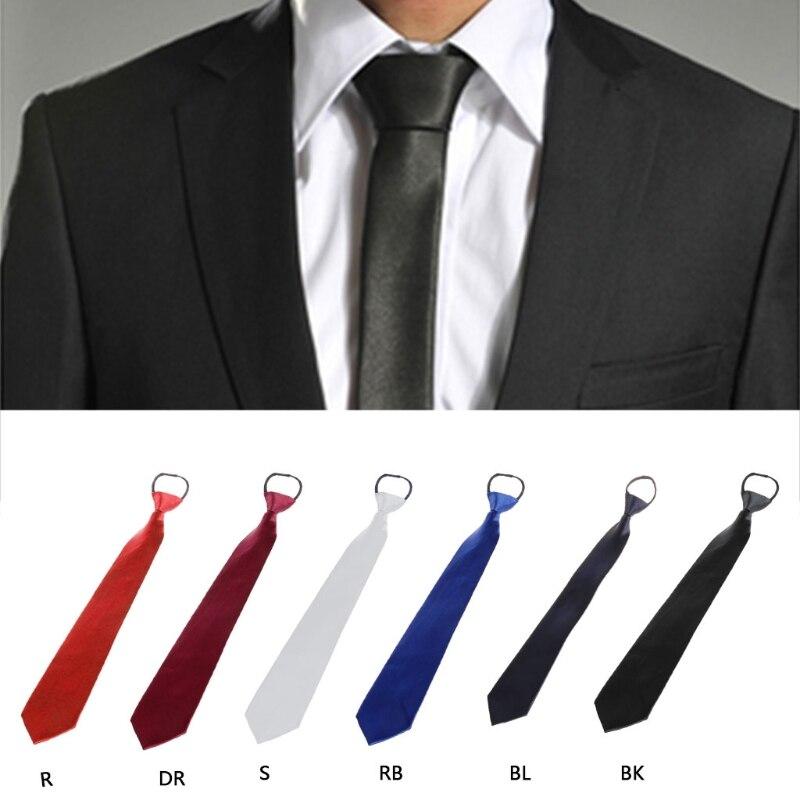 New Kids Boys Zipper up Adjustable Pre-tied Necktie mint green White Stripes