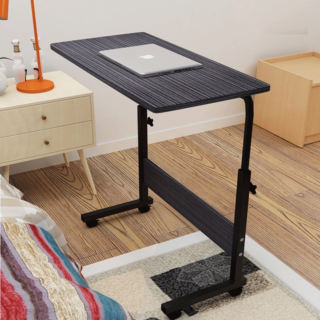 Multi Functional Simple Modern Mobile Bedside Computer Desk Sofa Table Household Notebook Laptop