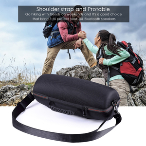 Image 4 - 2019 Portable EVA Hard Carrying Pouch Cover Bag Storage Case for JBL Xtreme2/ Xtreme 2 Bluetooth Speaker Extra Space With Belt