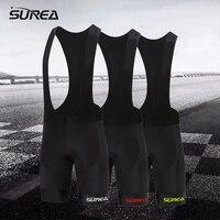 SUREA High Quality Bib Shorts Race Bicycle Ropa Ciclismo Bike Pants 9D Gel Pad Breathable Quick