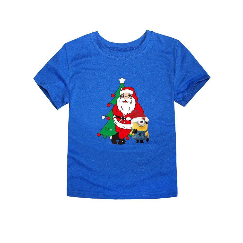 Herbst Weihnachten Kinder T shirts Für Jungen Mädchen Weihnachtsmann ...