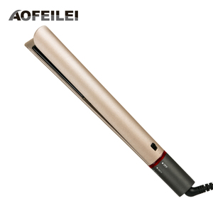 Image 1 - AOFEILEI plancha alisadora de pelo profesional, rizador de pelo 2 en 1, alisador de pelo, planchas planas de cerámica