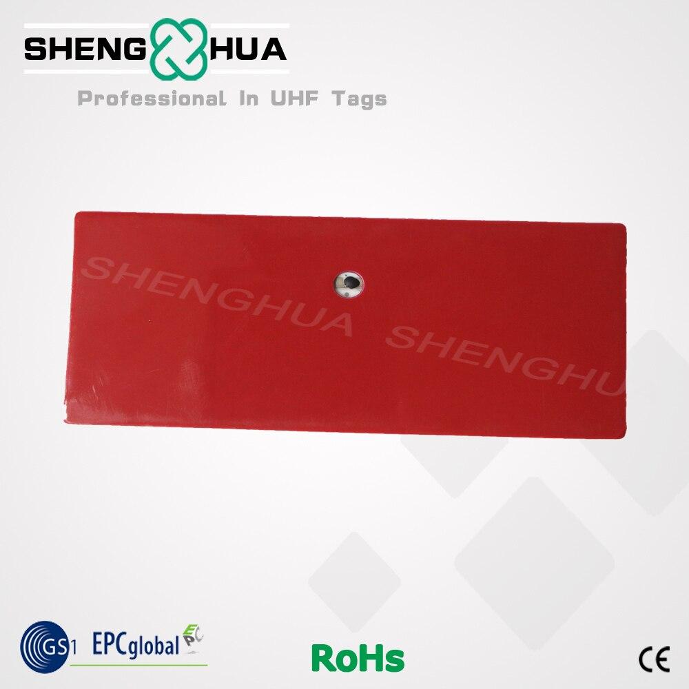 120pcs/pack 860Mhz 960Mhz ETC Long Range Waterproof Passive RFID Windshield UHF RFID Ceramic Adheisve Tag