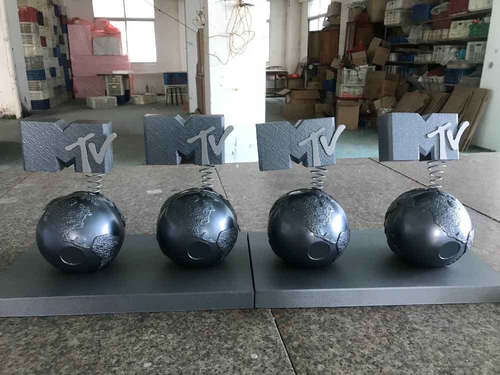 2016 MTV EMA Awards Trophy, MTV Europe Music Awards, Metal EMA Awards Trophy