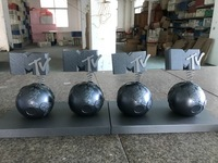 2016 MTV EMA Awards Trophy, MTV Europe Music Awards, металлический EMA Awards Trophy