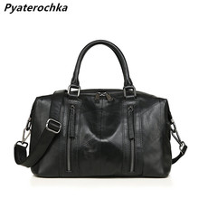 Pyaterochka Handbag Women Genuine Leather Bag Fashion Shoulder Bag Boston Patchwork High Quality Female Messenger Crossbody Bag цена 2017