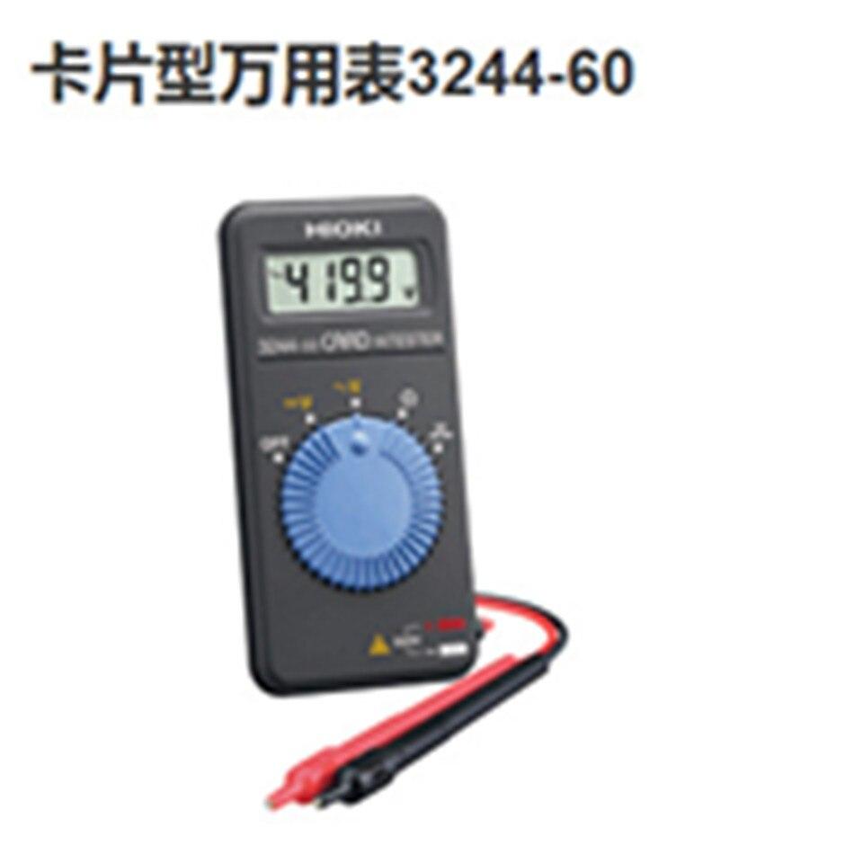 3244-60 Card HiTester Digital Multimeter Auto-ranging Power Saving Electrical Better цена