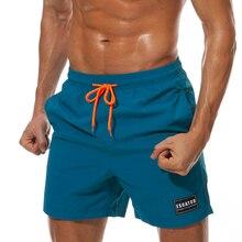 Quick Dry Swimwear Men Summer Board Shorts Surf Swimming Beach Short Athletic Swimsuit Running Gym Shorts Maillot De Bain Homme