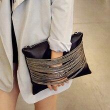 Retro clutch bag 2016 women's trend handbag shoulder bags fashionable casual envelope bag messenger bag bolsa feminina sac femme