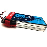 DXF Bateria AKKU 3S 11.1V 8000mah 30C LiPo Battery Tplug/XT60/EC5/TRX Traxxas for RC Helicopter Airplane Car Boat