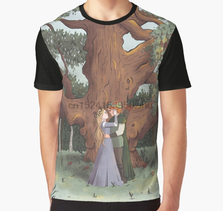 Sheriff Of Nottingham // Spoon Robin Hood Alan Rickman T-Shirt Grey Marl