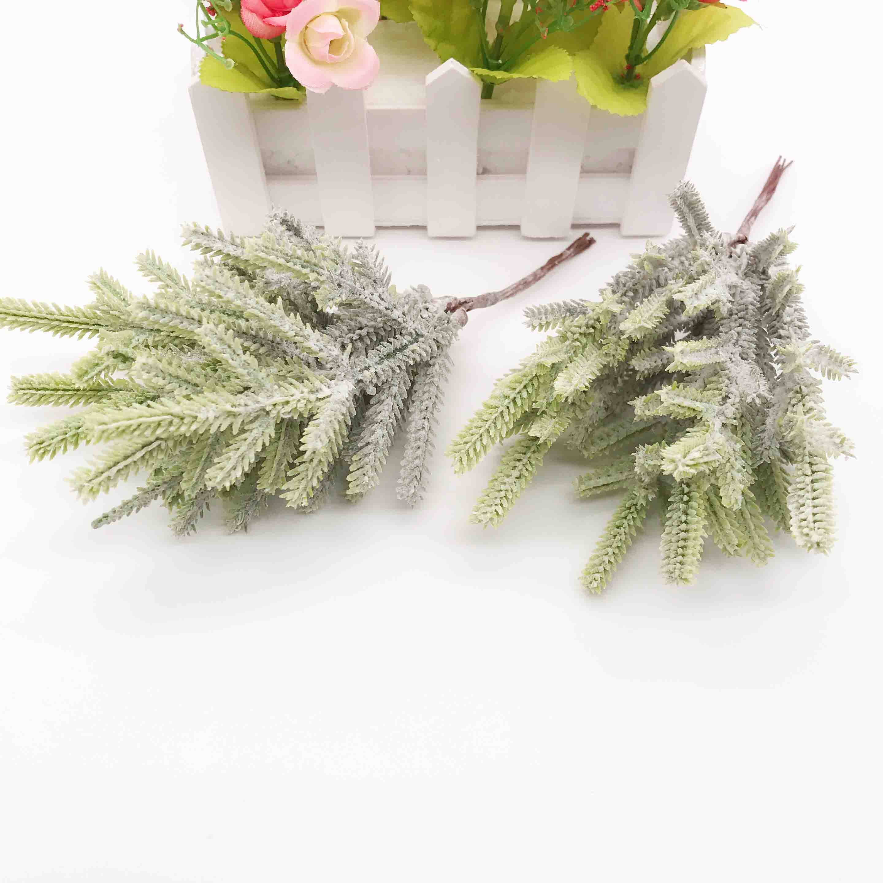 Scrapbook Ornament Party Artificial Grass Fake Plant Flowers  Simulation Ferns