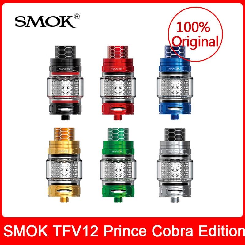 ต้นฉบับ SMOK TFV12 Prince Cobra Edition ถัง 7ml + V12 Prince X2/ตาข่าย/แถบขดลวดอิเล็กทรอนิกส์ smok tfv12 prince ถัง-ใน ตัวสร้างควันบุหรี่ไฟฟ้า จาก อุปกรณ์อิเล็กทรอนิกส์ บน AliExpress - 11.11_สิบเอ็ด สิบเอ็ดวันคนโสด 1